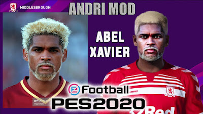 PES 2020 Faces Abel Xavier by Andri Mod