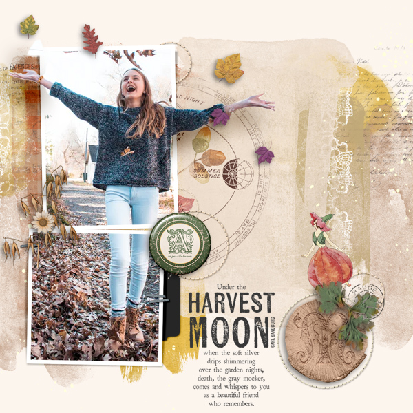 harvest moon © sylvia • sro 2019 • wheel of the year mabon & whimsical templates vol 02 by oawa