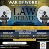 WAR OF WORDS: 1st Online National Debate Competition, Organized By In Light Of Law and Legal, Register Now