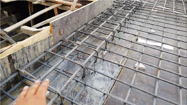 concealed beam in rcc roof slab