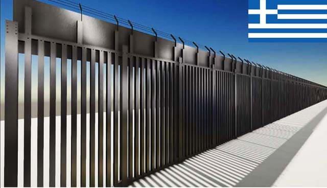 اليونان تبدأ بتشييد جدار حديدي على الحدود مع تركيا لمنع الابتزاز التركي