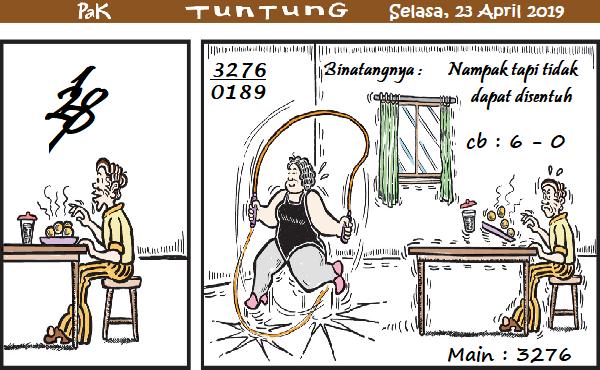 Prediksi Gambar Kode Syair Pak Tuntung Selasa 23 April 2019 | Pak