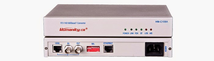 Bo chuyen doi E1 sang Ethernet - E1 to Ethernet converter