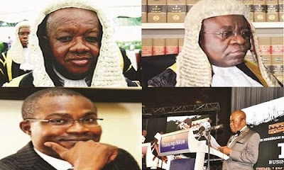 judges arrested by the dss