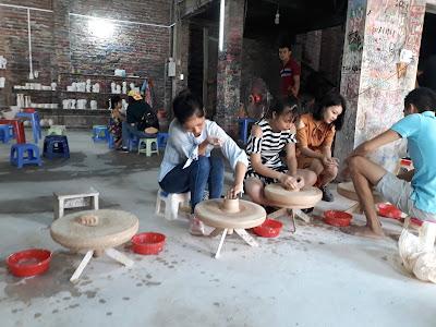 バッチャン焼き陶芸体験