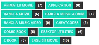 Blogger label widget 5