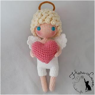 patron amigurumi Cupido haru leven handicrafts