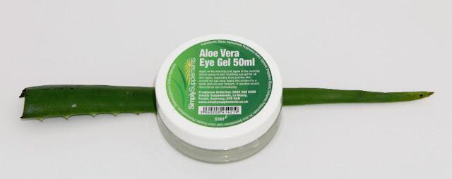 Gel de Aloe Vera Contorno de Ojos