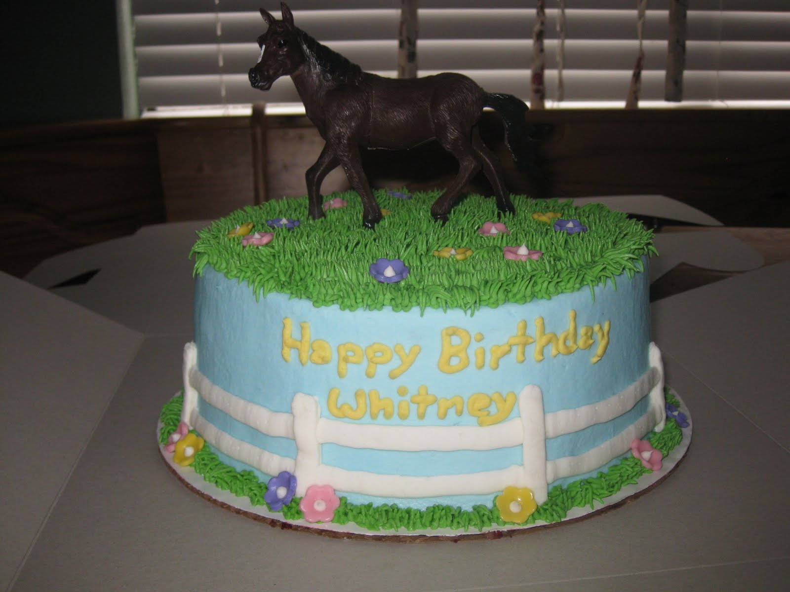 Cakes By Janelle Strawberry And Horse Cake
