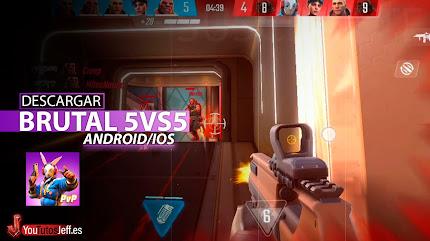 El mejor 5vs5 FPS Mobile, Descargar Shadowgun War Games para Android o iOS