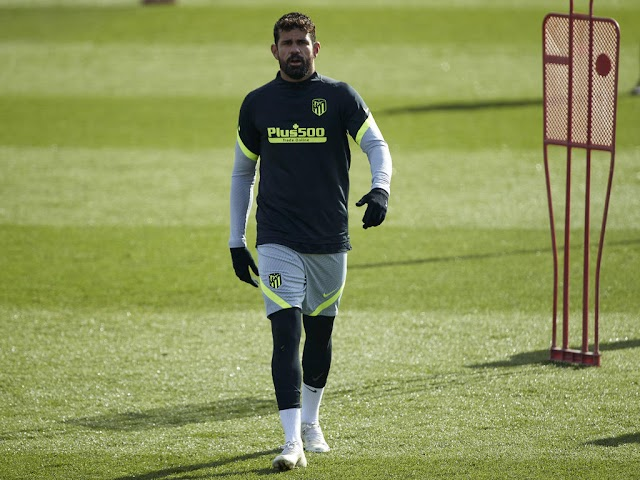 Atletico's madrid forward Diego Costa to miss a month with blood clot