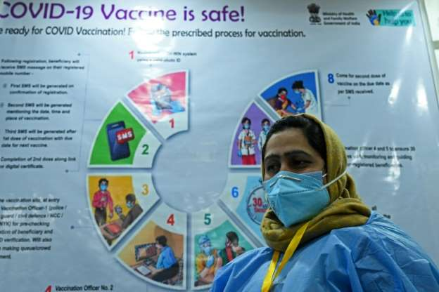 Tears and fears at the huge push for the coronavirus vaccine in India