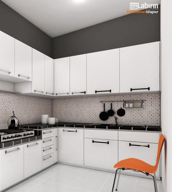 variasi gaya dan bentuk kitchen set murah yang menarik