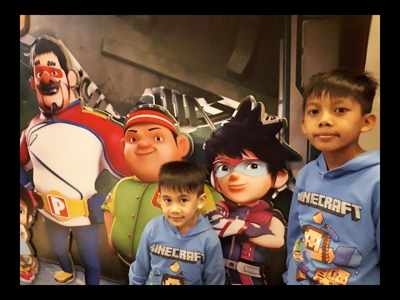 Boboiboy Movie 2 | Nama Penuh Pipi Zola Dan Adik Beradik Cendamad