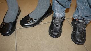 new shoes, uniform
