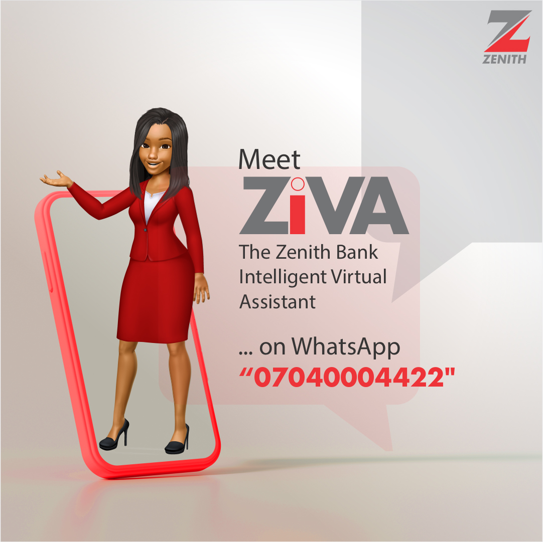 The Zenith Bank Intelligent Virtual Assistant