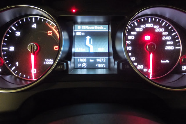 audia5-meter and small display