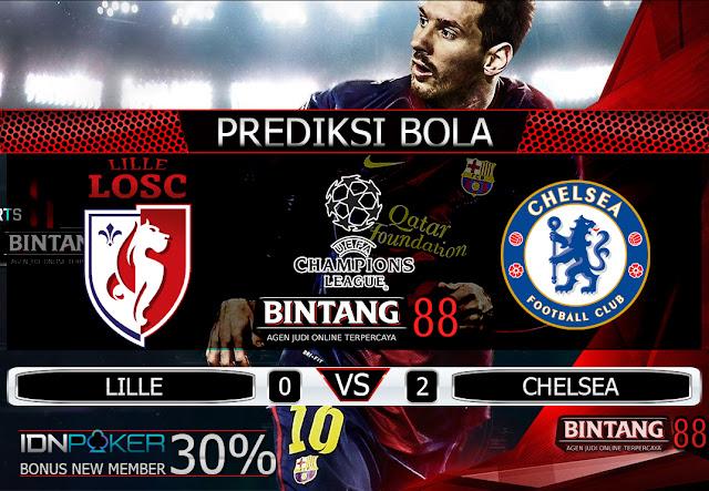 PREDIKSI BOLA - Pada hari Kamis, 3 Oktober 2019 pukul 02:00 waktu indonesia barat akan di adakan laga pertandingan Liga UEFA Champions League antara LILLE VS CHELSEA. Pertandingan ini nantinya akan di laksanakan di Stadion Pierre-Mauroy.