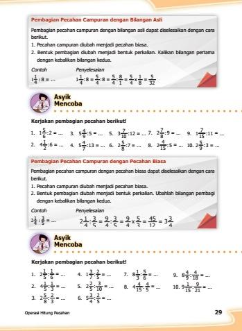 kunci jawaban buku senang belajar matematika kelas 5 halaman 29
