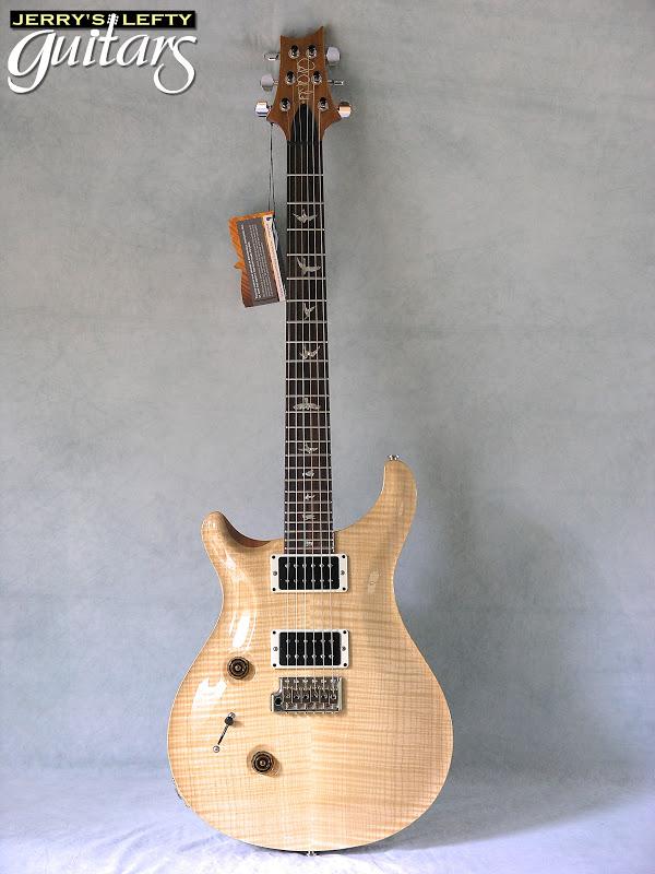 jerry 39 s lefty guitars newest guitar arrivals updated weekly prs custom 24 10 top natural left. Black Bedroom Furniture Sets. Home Design Ideas