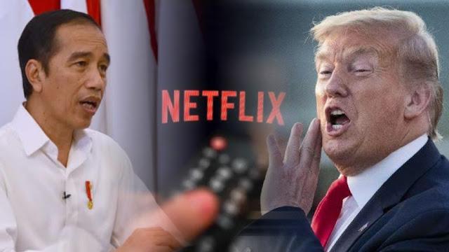 Trump Marah Gara-gara RI Pajaki Netflix cs