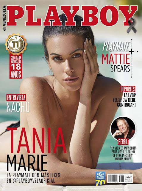Fotos Tania Marie desnuda para Playboy Septiembre 2017