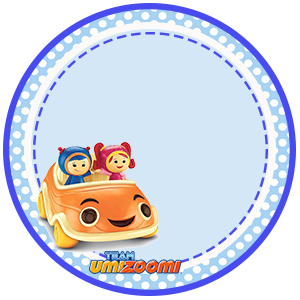 Toppers o Etiquetas de  Umizoomi para imprimir gratis.