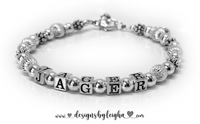 Paw Print Bracelet with Jager