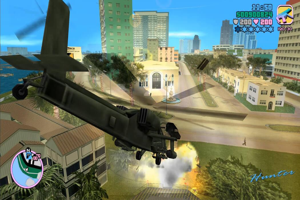 تحميل لعبة جاتا Vice City
