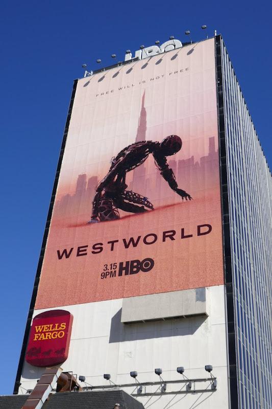 Giant Westworld season 3 HBO billboard
