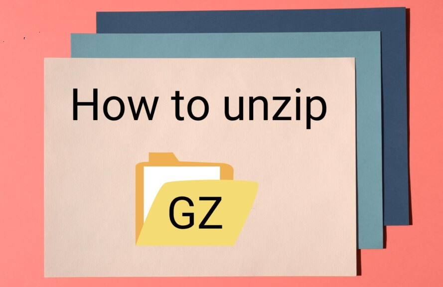 How to unzip gz file in linux
