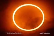 26 Desember Terjadi Gerhana Matahari Cincin di Indonesia