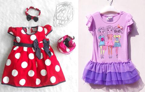gambar baju anak perempuan lucu