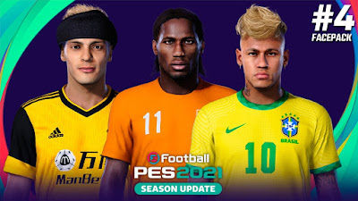 PES 2021 FacePack 4 by Yeshua