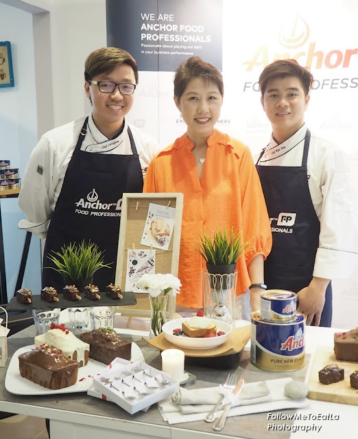 With Pastry Chef Chrispian & Chef Ken Tan From Anchor Food Professionals