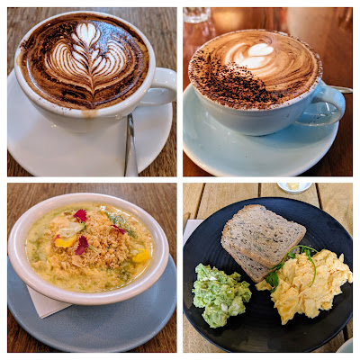 Auckland in a day: breakfast and coffee at Melba or Chuffed