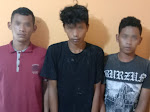 Tiga Pemuda Warga Jati Agung, Curi Kabel PLN di Sidomulyo