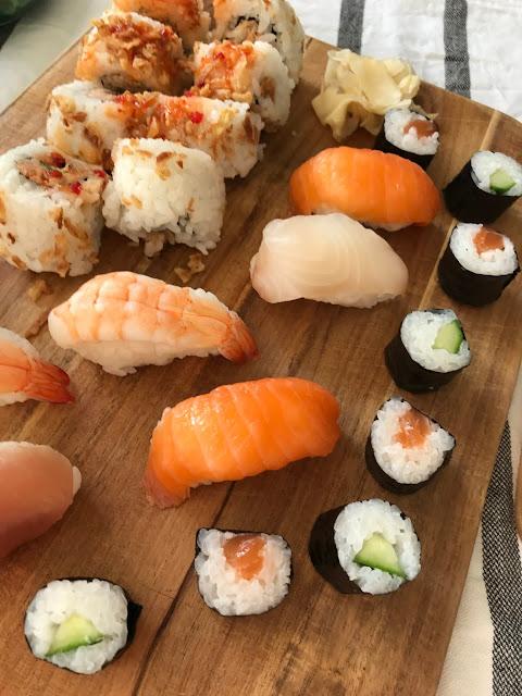 Sushi Hochzeitsblumen mit Treibholz Geschenkideen Hochzeitstag Jules kleines Freudenhaus