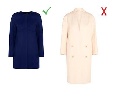 Синее и розовое пальто-кокон