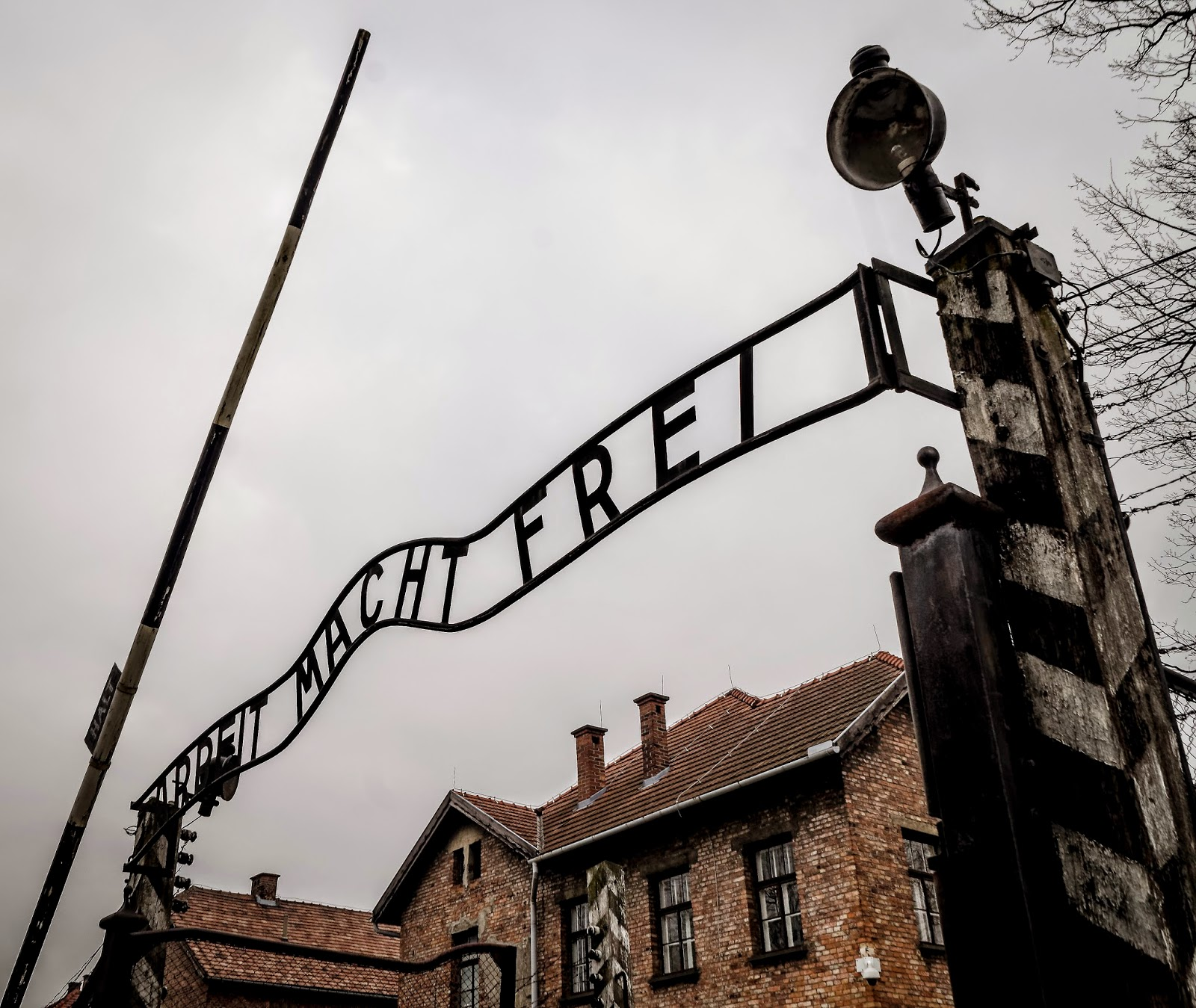 auschwitz pologne hiver
