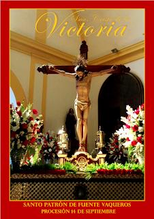 Hoy Procesión delSantísimo Cristo de la Victoria de Fuente Vaquero