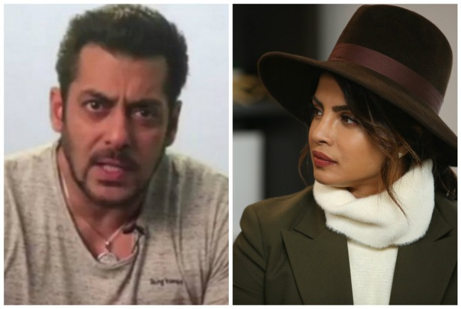 Salman khan and Priyanka