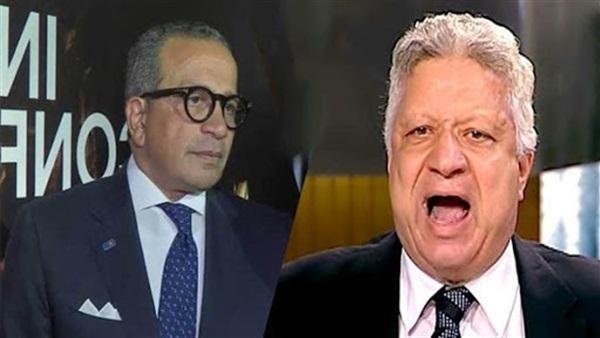عمرو الجنايني ومرتضى منصور