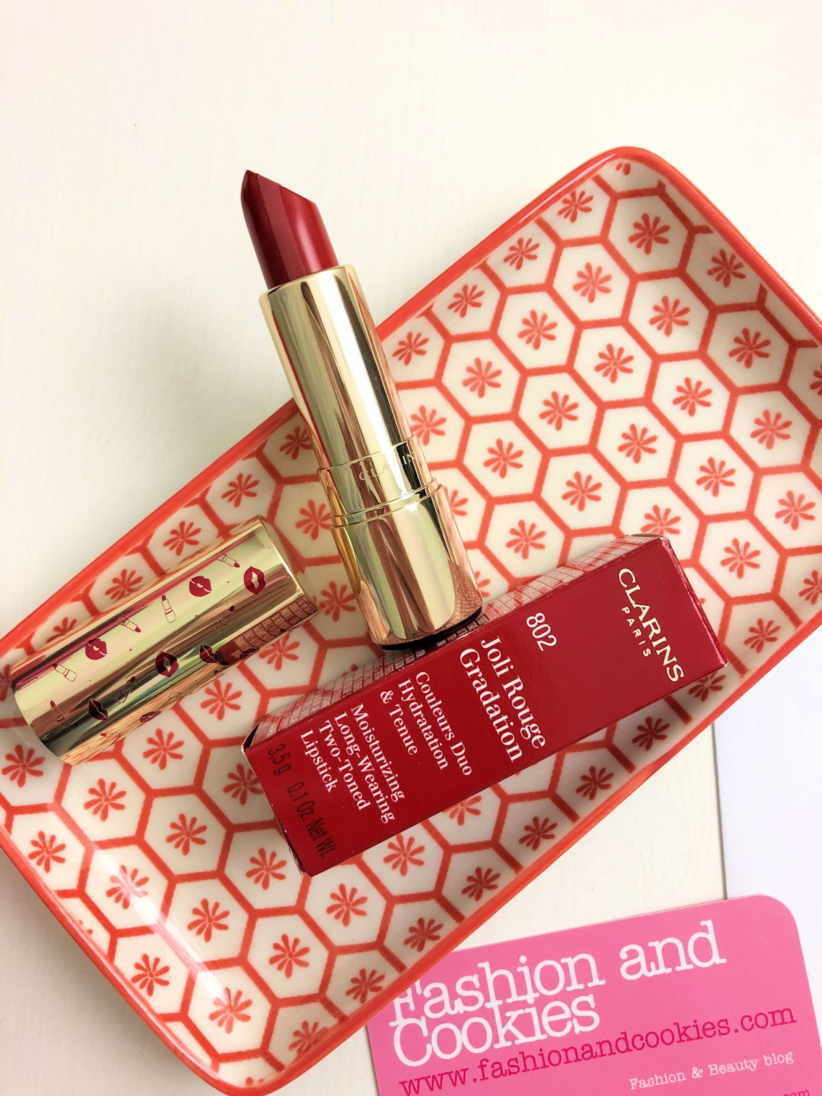 Clarins Joli Rouge Gradient su Fashion and Cookies beauty blog, beauty blogger