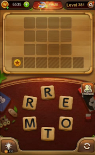 Word Connect Level 381 to 400 Answers