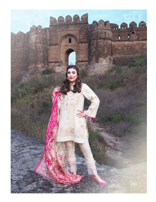 Pakistani summer lawn prints dresses collection 2017