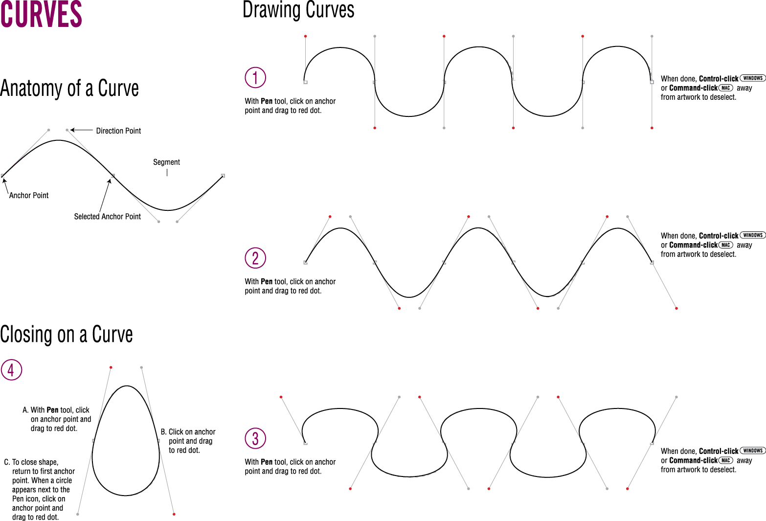Tanner S Blog Adobe Illustrator Worksheet Curves