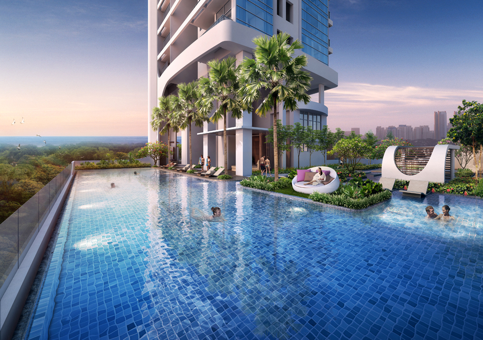 Spottiswoode Suites Lap Pool