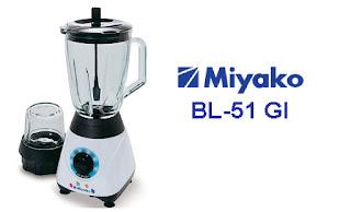 Review blender Miyako BL-51 GI teknologi terkini dengan harga murah
