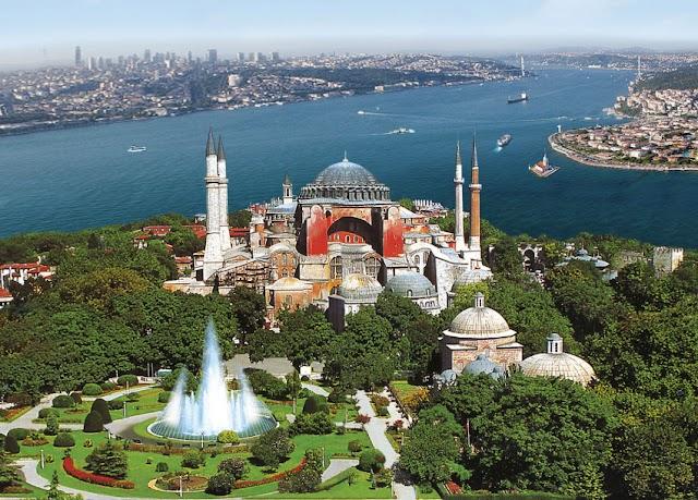 Ankara tájékoztatni fogja az UNESCO-t a mecsetté nyilvánított Hagia Sophia átalakításáról